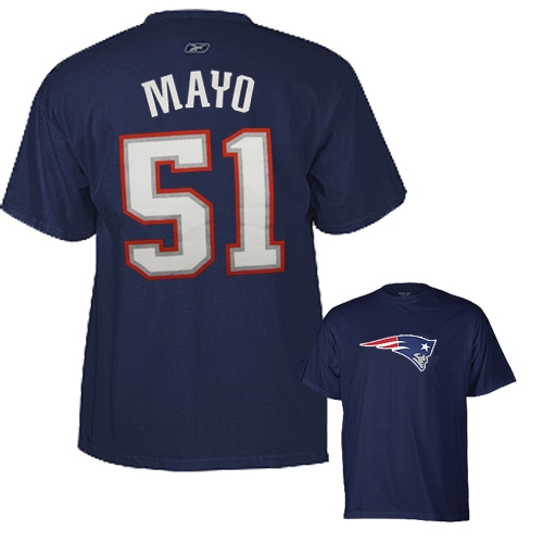 Jerod Mayo Name/Number Tee