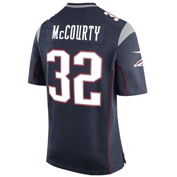 Nike Devin McCourty 32 Game JerseyNavy