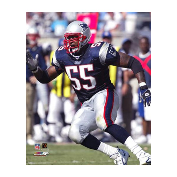 Willie McGinest 8x10 Carded Photo