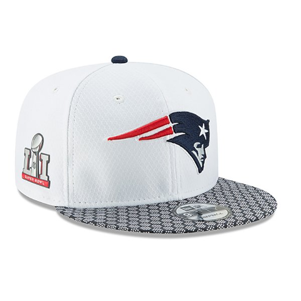 New Era Super Bowl 51 Media Day 9Fifty Snap Cap-White
