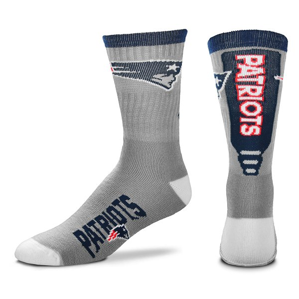 Patriots Cool Jump Socks-Gray