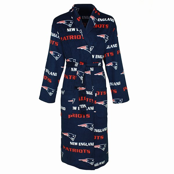 Patriots Men's Robe-Navy