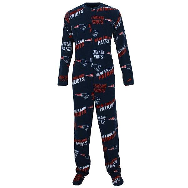 Mens Facade Union Suit-Navy