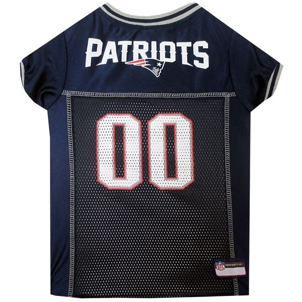 Patriots Mesh Pet Jersey-Navy