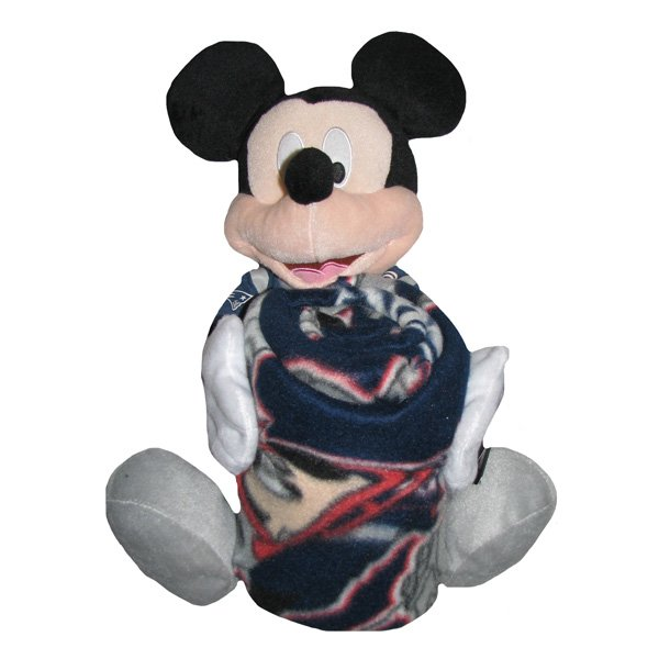 Mickey Mouse Hugger Pillow/Throw Set