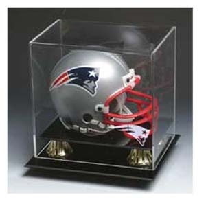 Pats Mini Helmet Display Case
