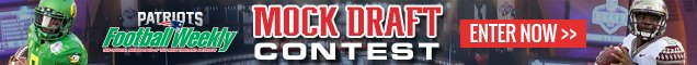 PFW Mock Draft Contest