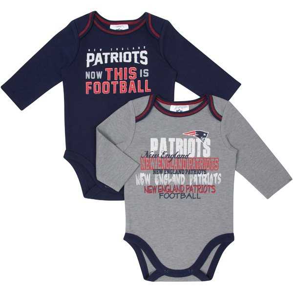 Newborn 2014 Long Sleeve Bodysuits-2pk