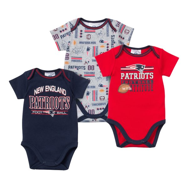 Newborn 2015 3pk Bodysuits-Navy