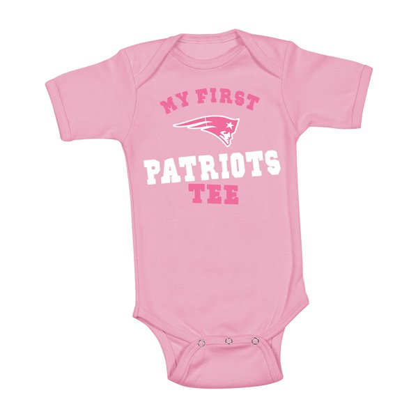 Newborn My First Tee-Pink