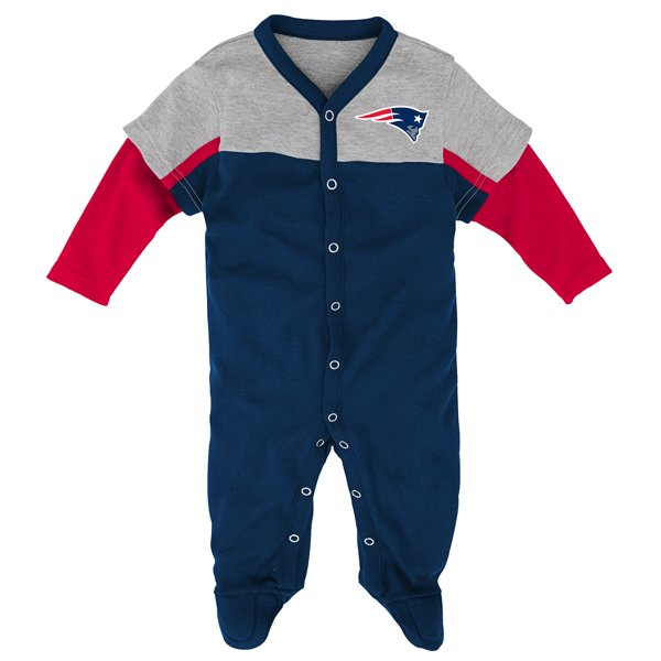 Newborn Player Coverall-Navy