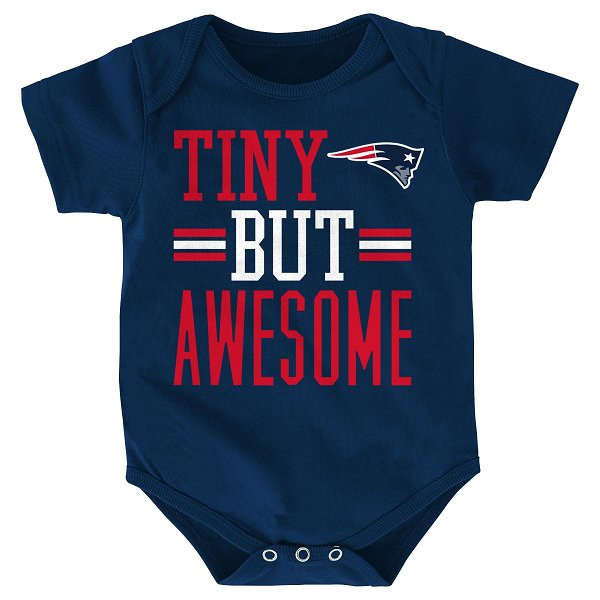 Newborn Tiny But Awesome Creeper-Navy