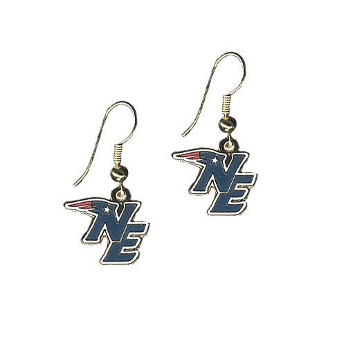 Patriots NE Earrings