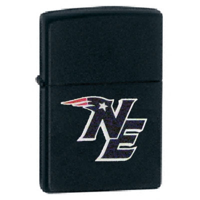 NE Logo Black Zippo Lighter