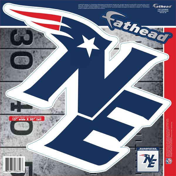 NE Logo Fathead Teammate