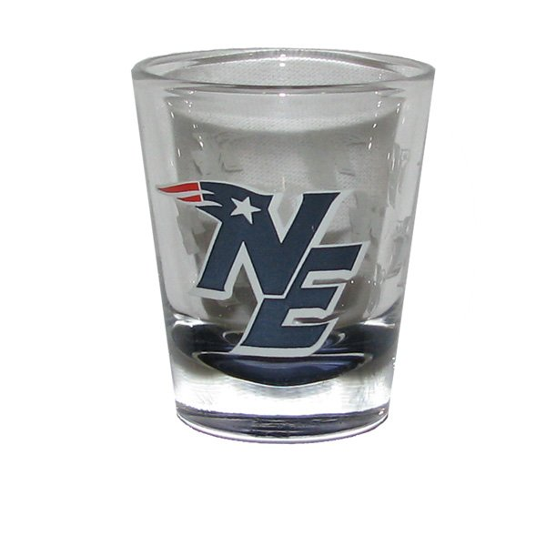 Patriots 2oz NE Logo Highlight Shotglass