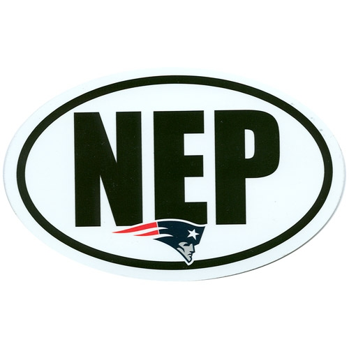 NEP Oval Car Magnet