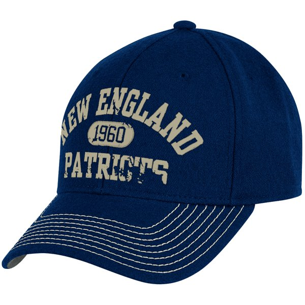 Patriots Adjustable Slouch Cap Navy