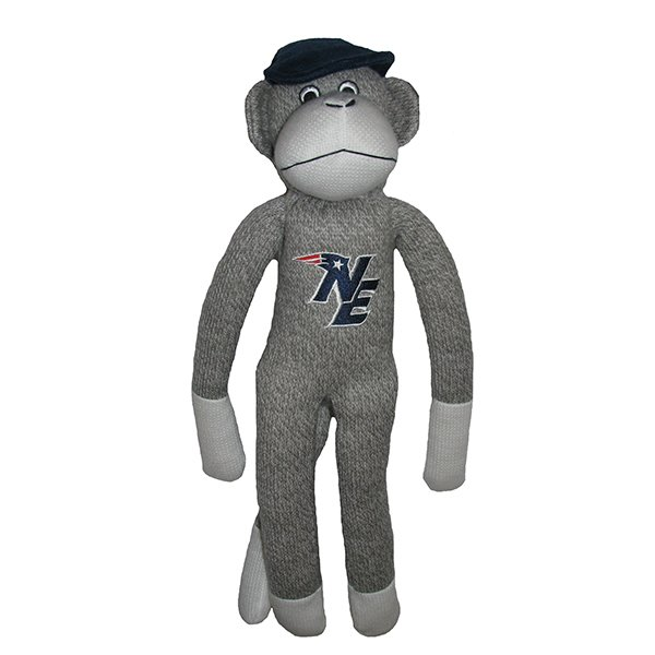 Patriots Sock Monkey