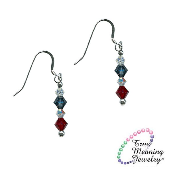Patriots Village Elegant Earrings