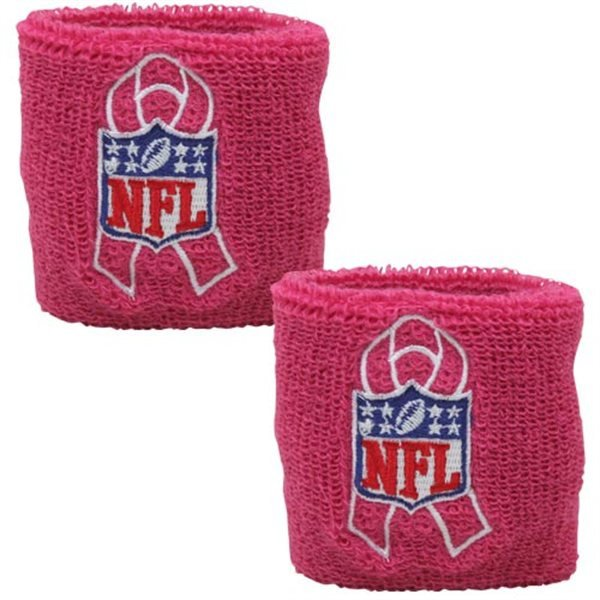 NFL BCA Pink Ribbon Wristbands
