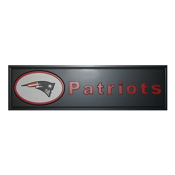 Patriots Team Name Plaque