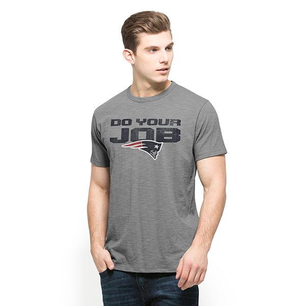 '47 Brand Do Your Job Scrum Tee-Gray