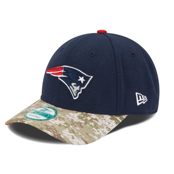 New Era Salute To Service 9Forty Cap-Navy