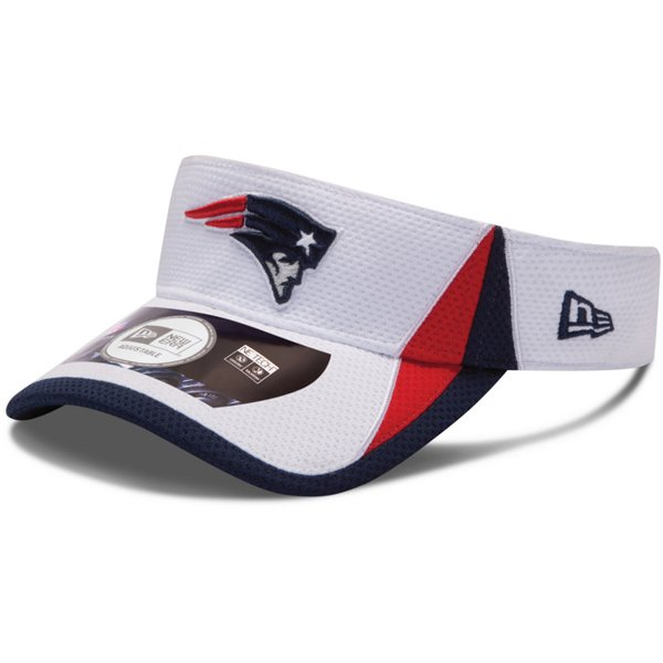 New Era 2013 Training Visor-White
