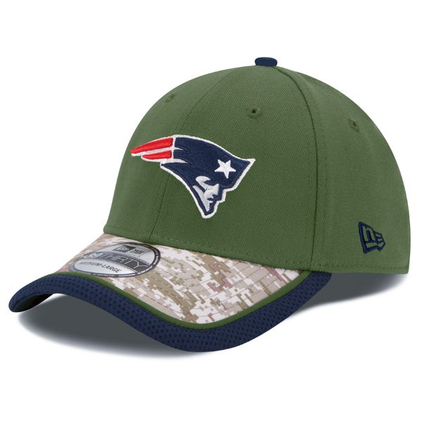 New Era Salute To Service 2014 39Thirty Flex Cap-Green