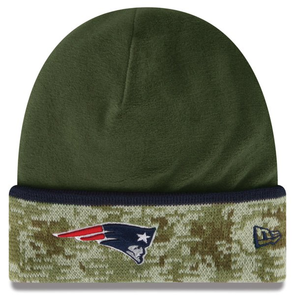 New Era Salute To Service 2014 On Field Knit Hat-Green