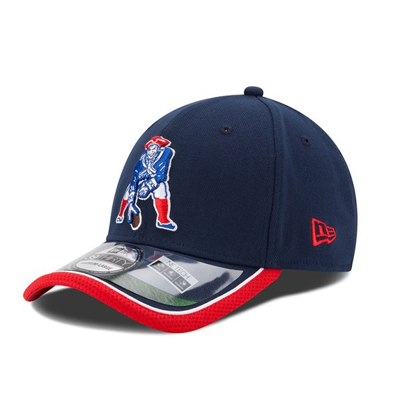 New Era 2014 Throwback On Field 39Thirty Cap-Navy/Red