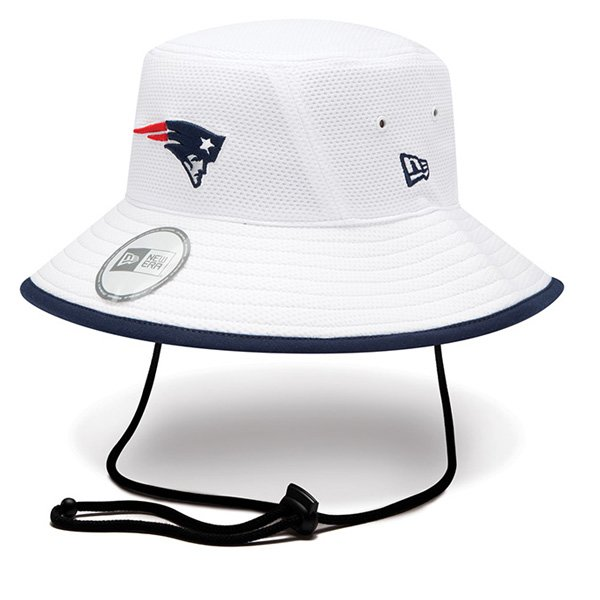 New Era 2014 Training Bucket Hat-White