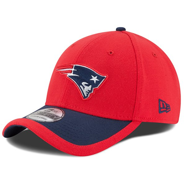 New Era 2015 On Field 39Thirty Flex Cap-Red/Navy
