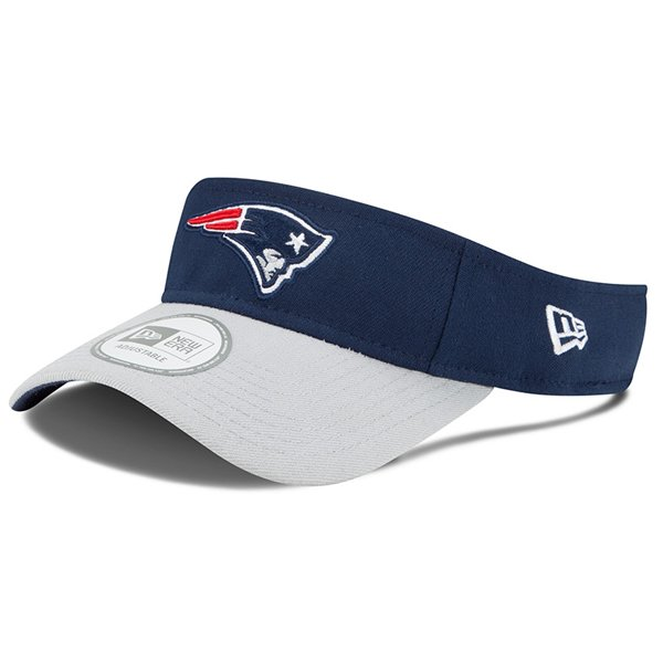 New Era 2015 On Field Visor-Navy/Gray