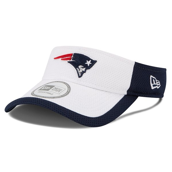 New Era 2015 Training Visor-White/Navy