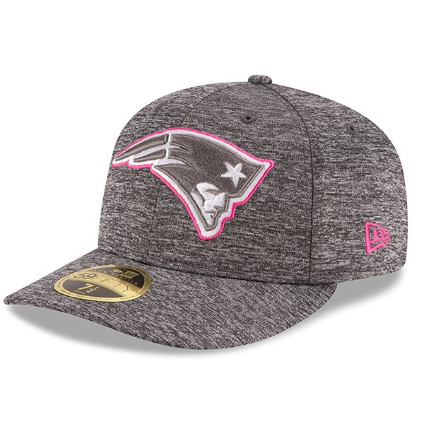 New Era 2016 BCA 59Fifty Fitted Cap-Gray/Pink