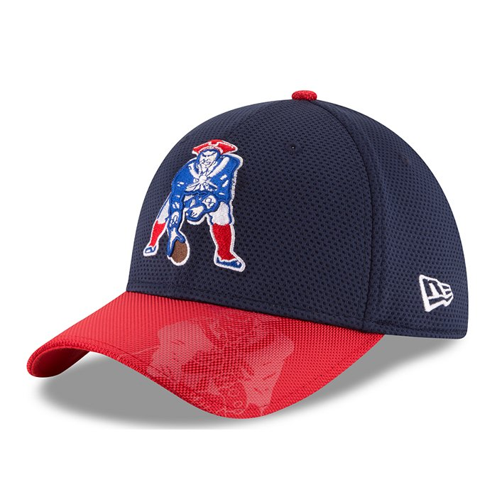 New Era 2016 Throwback On Field 39Thirty-Navy/Red