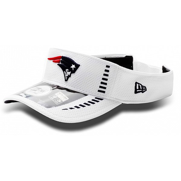 New Era 2012 Training Visor-White