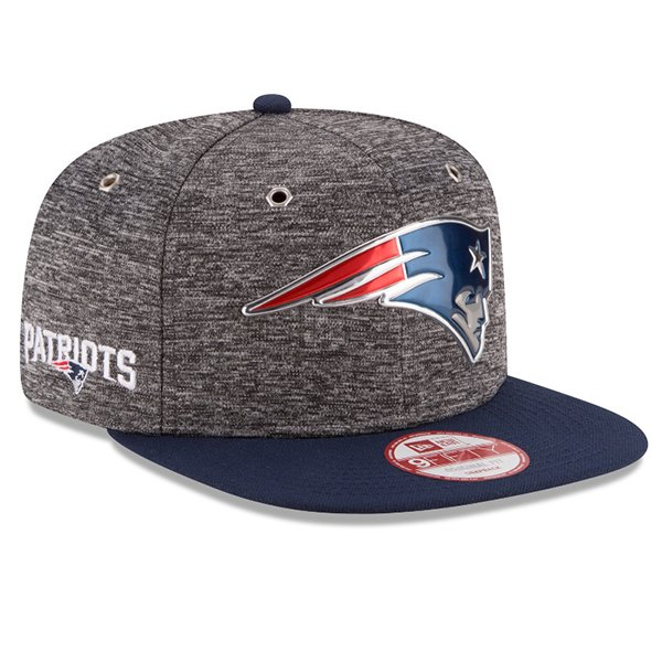 New Era 2016 Draft 9Fifty Snap Cap-Gray