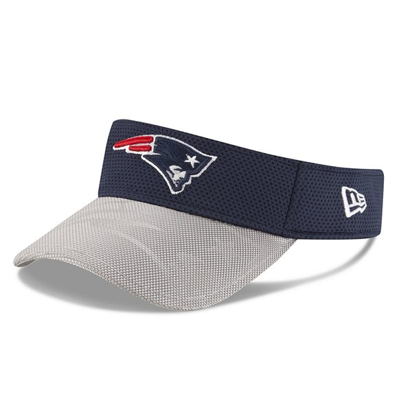 New Era 2016 On Field Visor-Navy/Gray