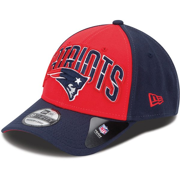 New Era Patriots 2013 Draft 39THIRTY® Structured Flex Cap