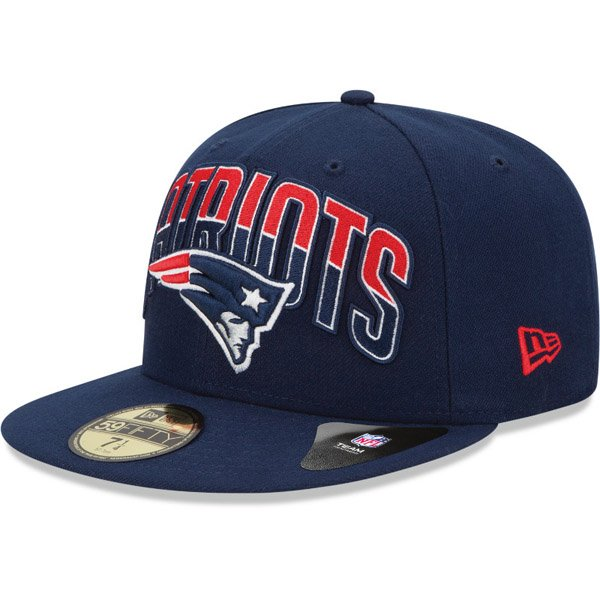 New Era Patriots 2013 Draft 59FIFTY Structured Fitted Cap
