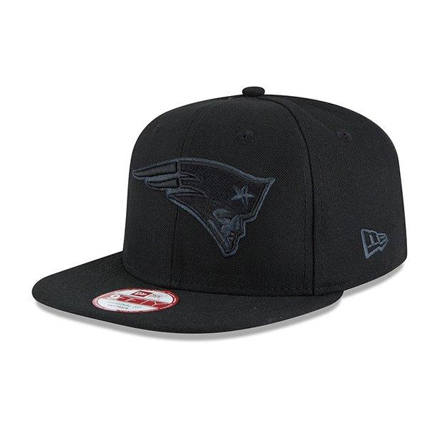 New Era 9Fifty Graphite Snap Back Cap-Black