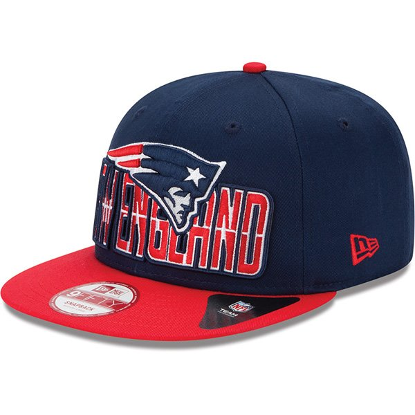 New Era Patriots 2013 Draft 9FIFTY Structured Snapback Cap