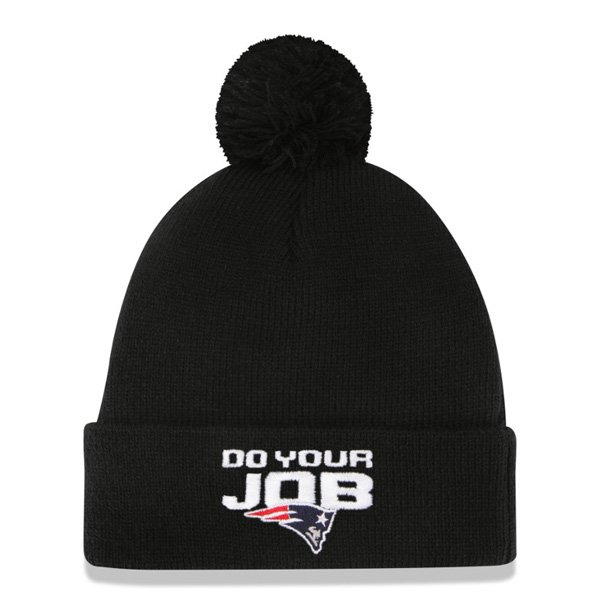 New Era Do Your Job Knit Hat-Black