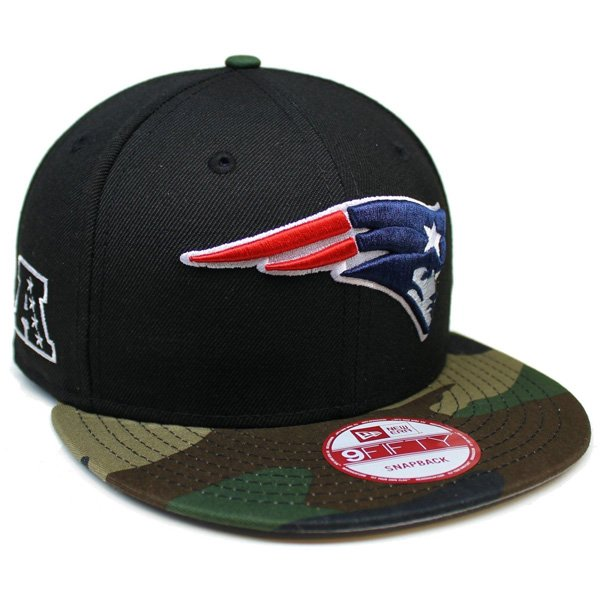 New Era 9Fifty Snap Cap-Black/Camo