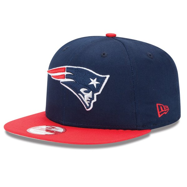 New Era 9Fifty Snap Cap-Navy/Red