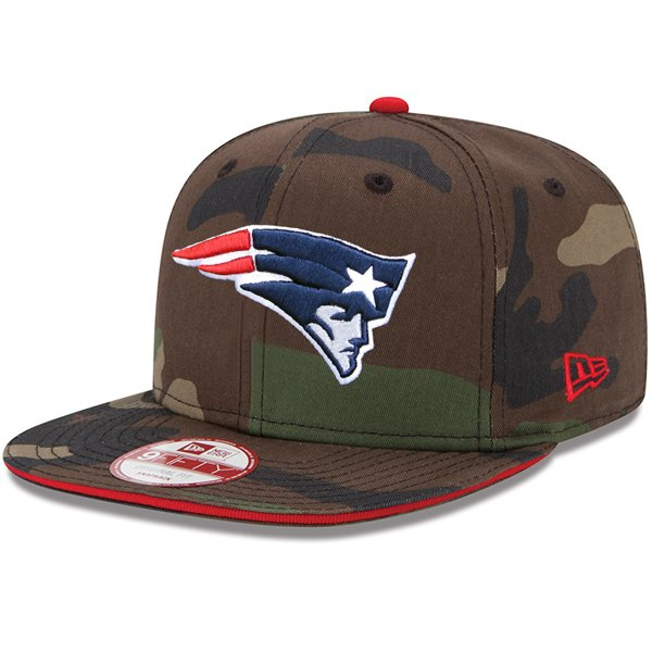 New Era 9Fifty Visor Trick Snap Cap-Camo