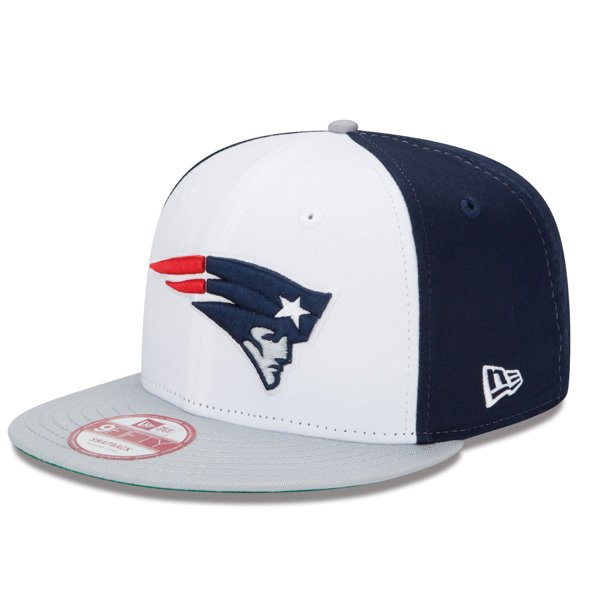 New Era Team Logo 9Fifty Snap Cap-White/Navy
